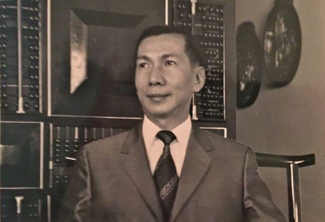 Bản Quyền Hình Ảnh Chau Family Image Caption Bộ Trưởng Tài Chính Vnch, Ông Châu  Kim Nhân (1928-2018) Vừa Tạ Thế Ở Hoa Kỳ