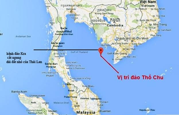 Kết quả hình ảnh cho kênh đào Kra của Thái